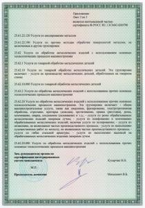 Сертификат ISO 9001 для Смарт Технолоджи
